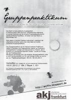 akj Flyer Gruppenpraktikum 2012
